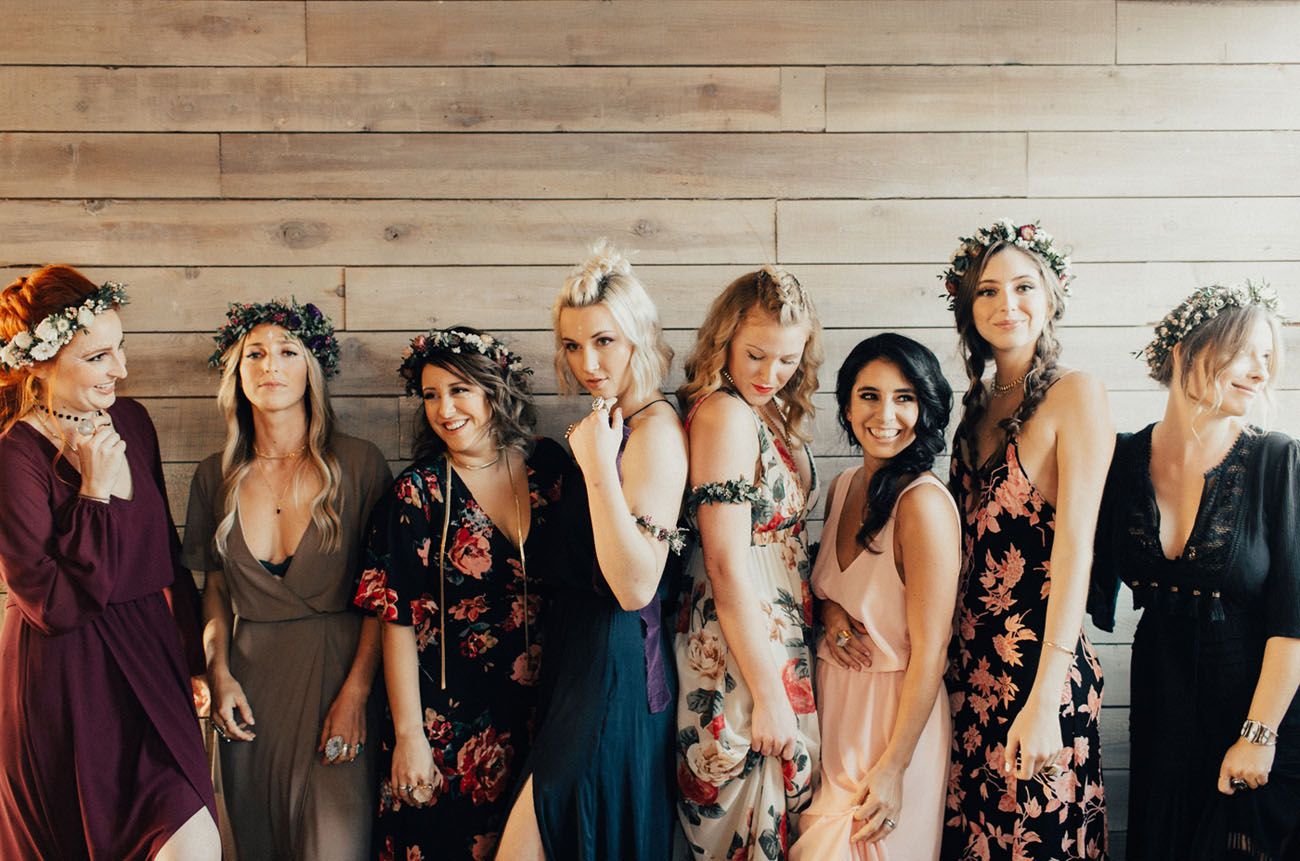Flower Galentines Day Party
