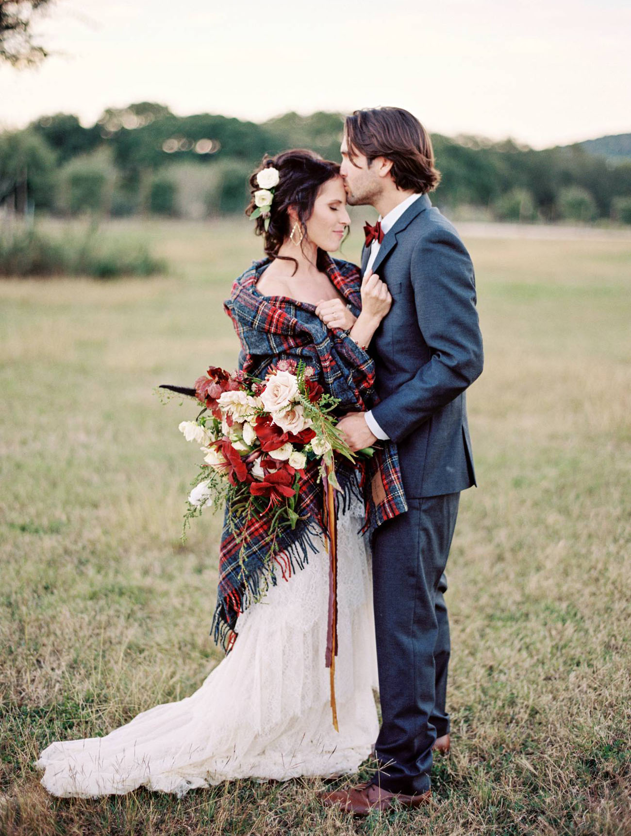 Cozy Moments Plaid Inspiration In The Texas Hill Country