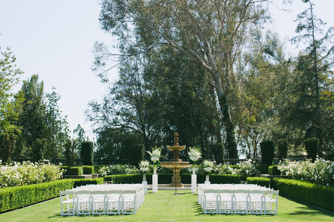 outdoor lawn ceremony