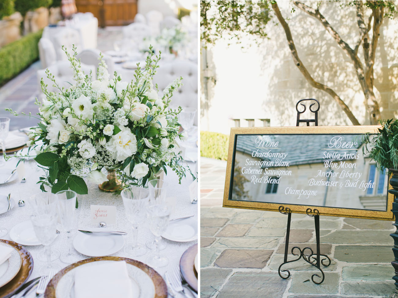 greenery centerpieces