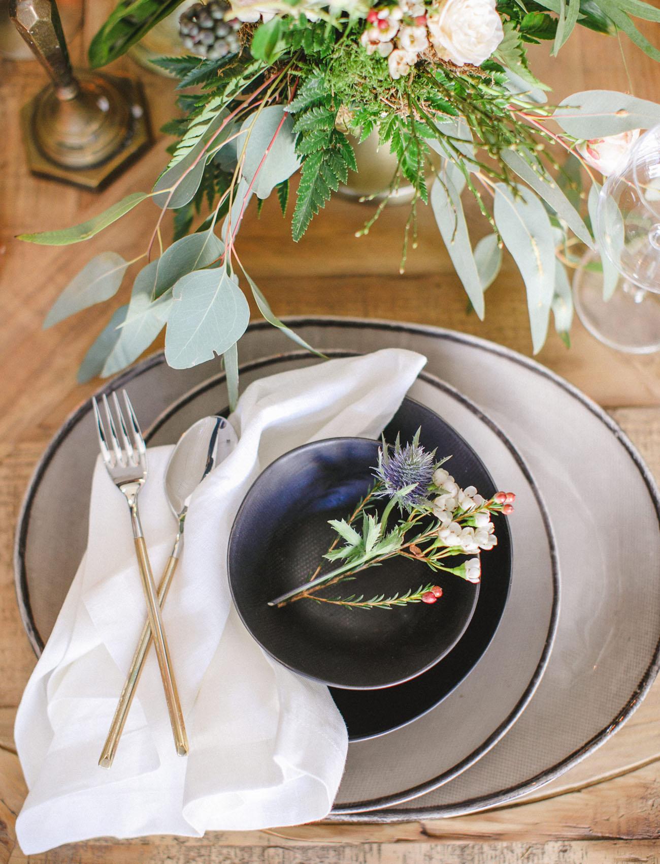 modern plate settings