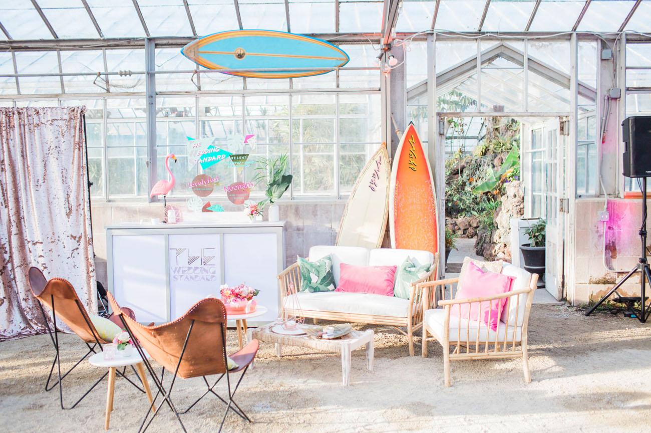 tropical lounge