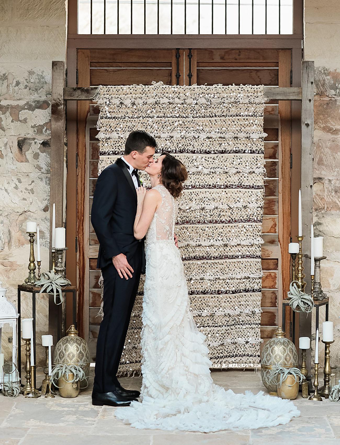 Moroccan Wedding Blanket Backdrop