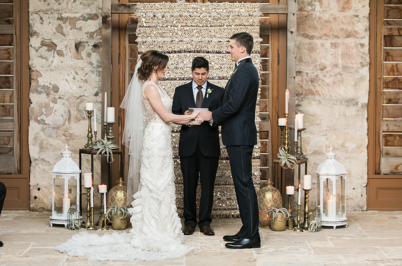 Glamorous Texas Wedding with Dazzling Moroccan Details - Green ...