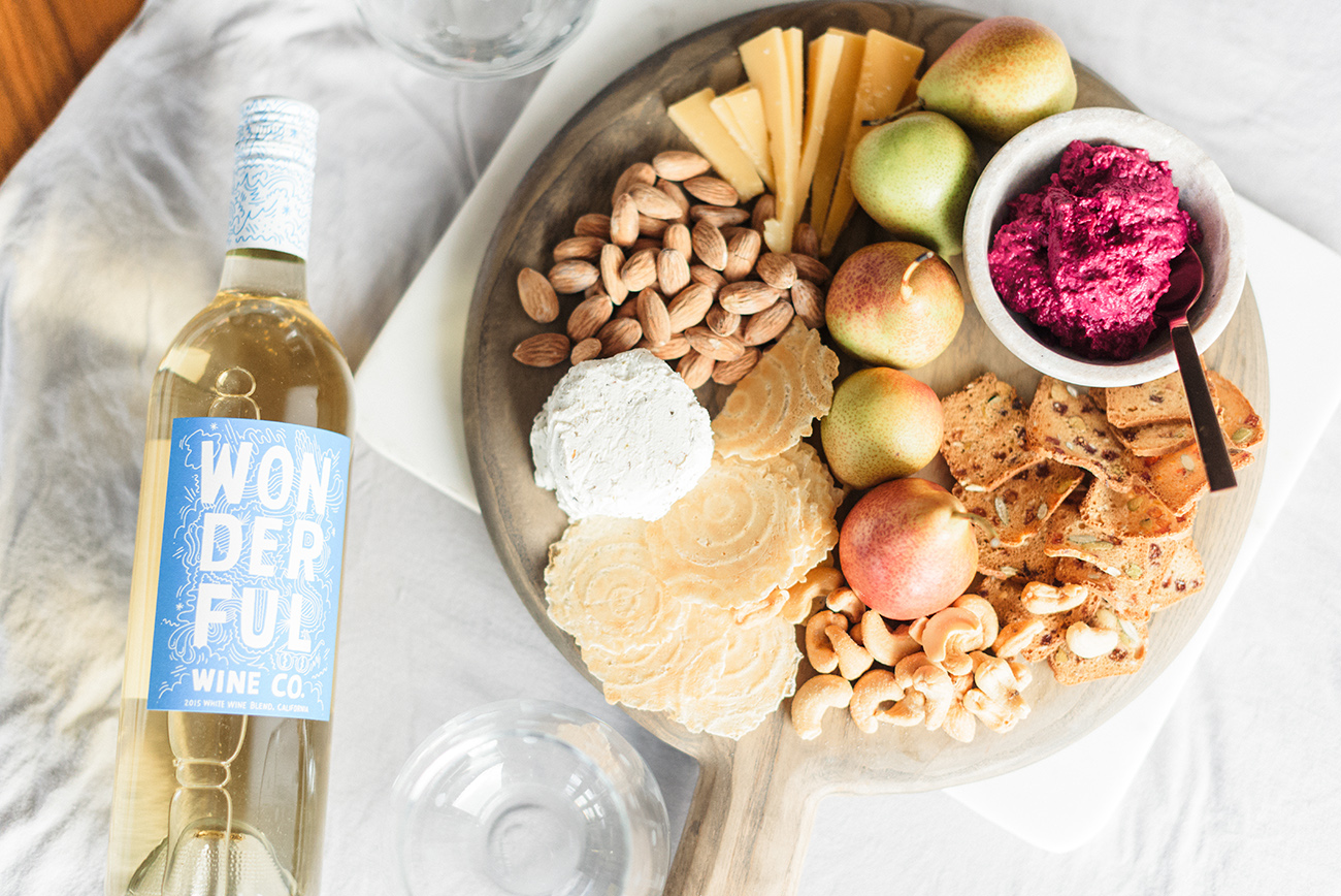 winc wine and cheeseboard