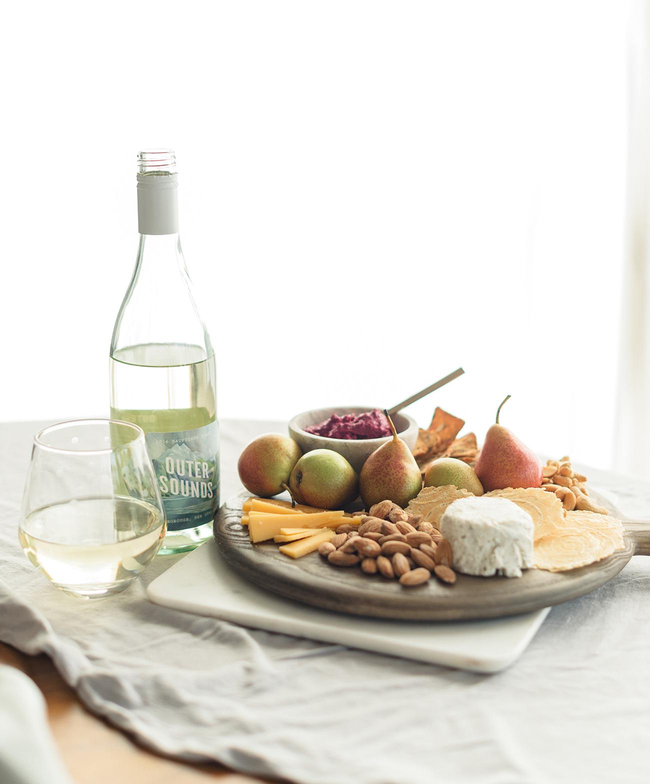 winc wine and cheeseboard