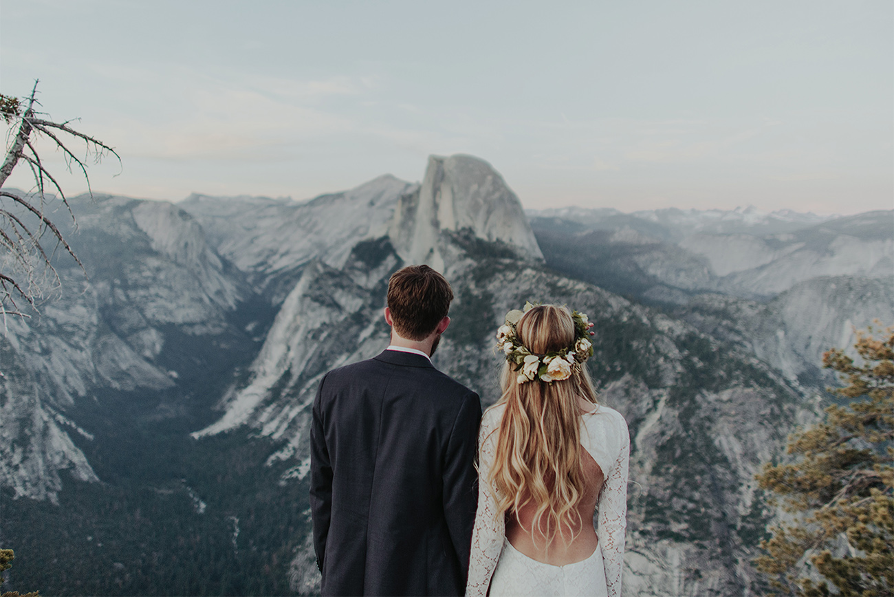 25 Jaw Dropping Spots That Will Make You Want to Elope - Green Wedding Shoes