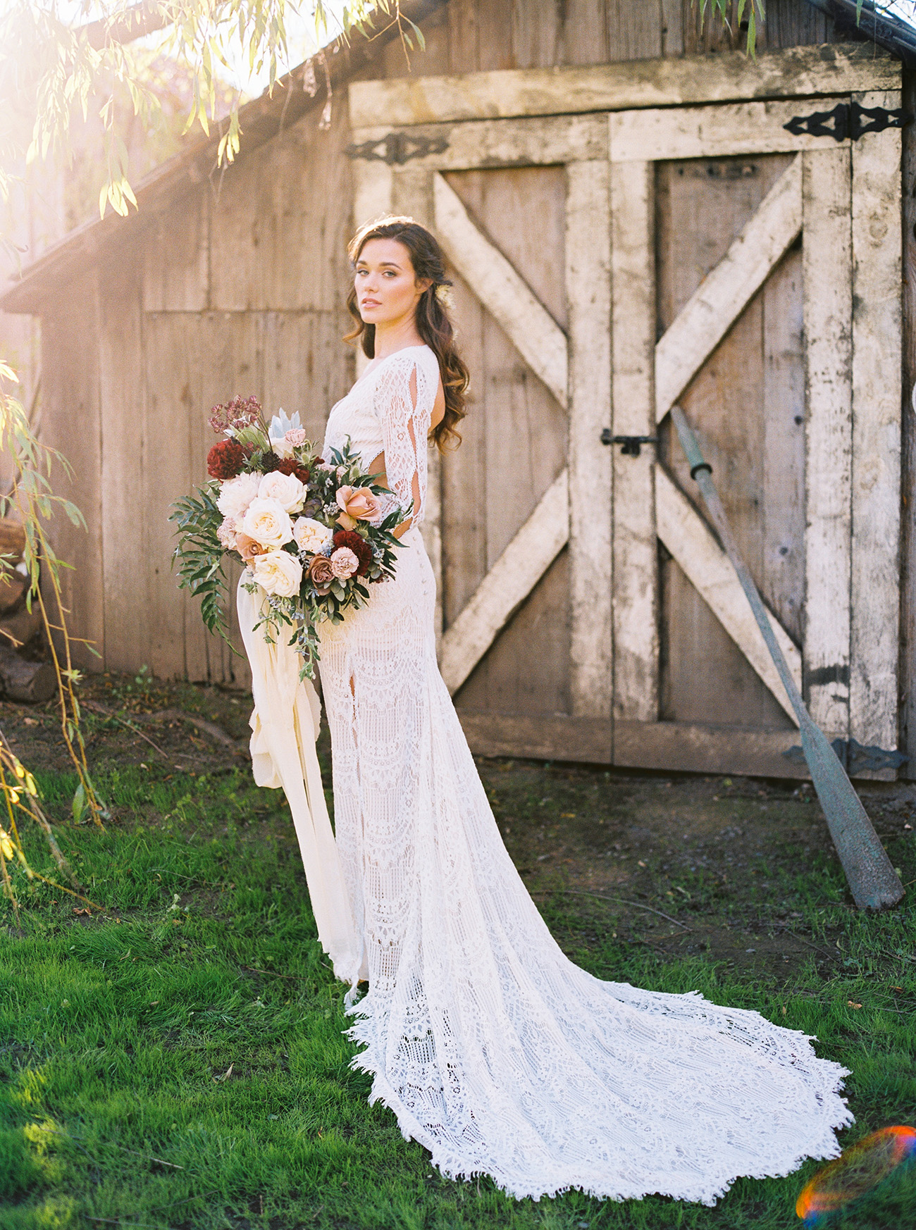 Daughers of Simone wedding gown