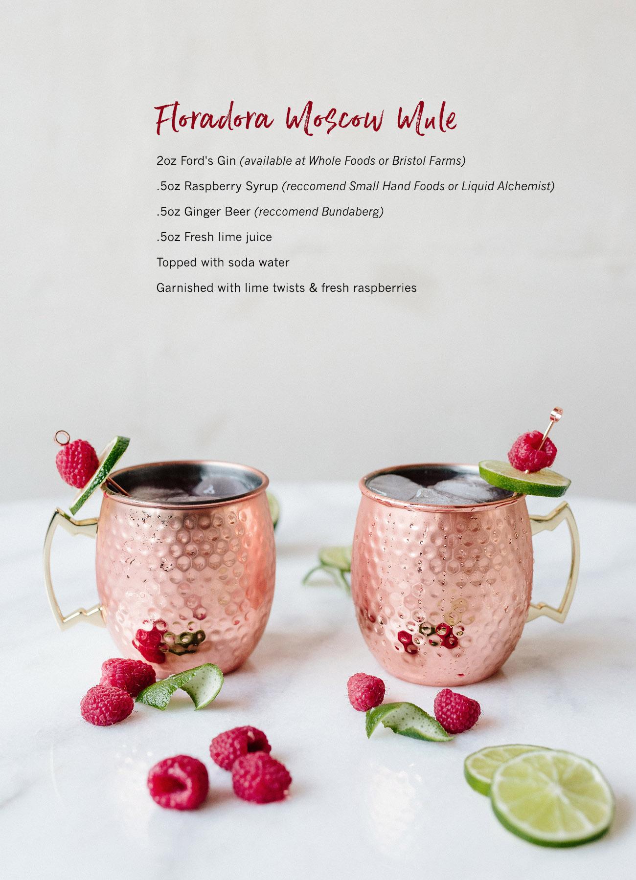 Floradora Moscow Mule recipe