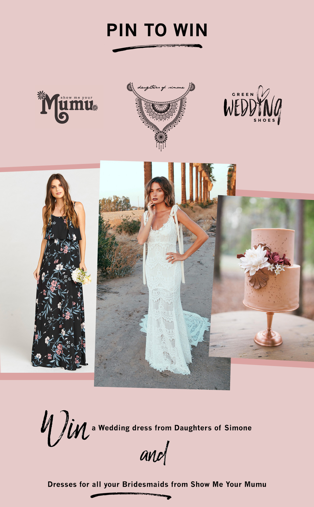 Win a Wedding Dress and Bridesmaids dresses