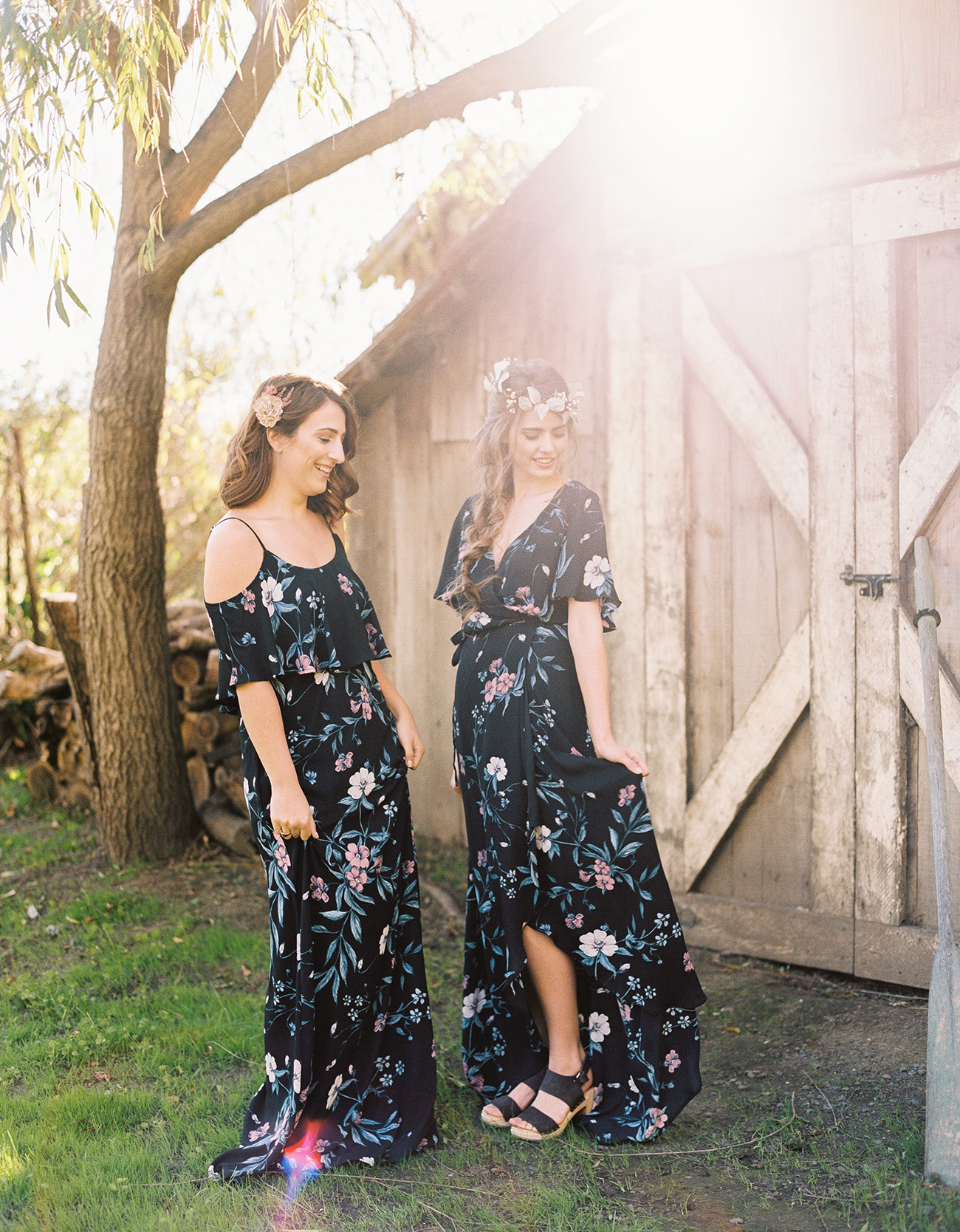 Show Me Your Mumu x Green Wedding Shoes bridesmaid dresses