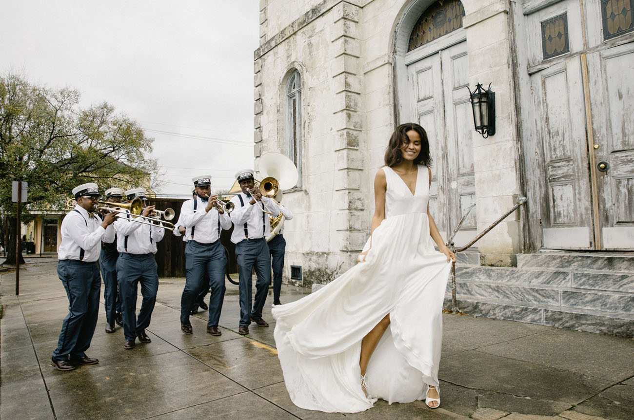 Alexandra Grecco Wedding Gowns Captured in New Orleans - Green ...