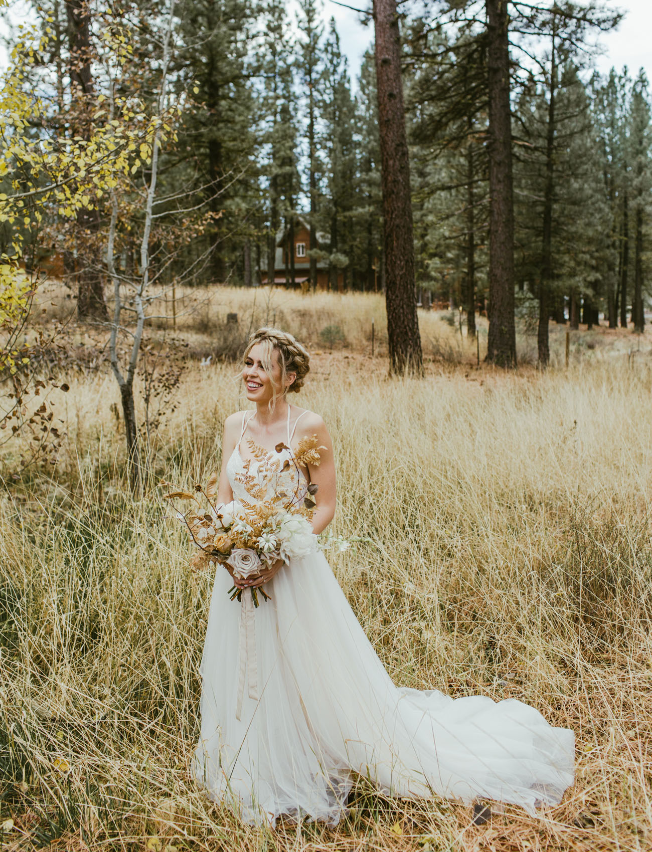 Modern + Edgy Forest Wedding in Northern California ...