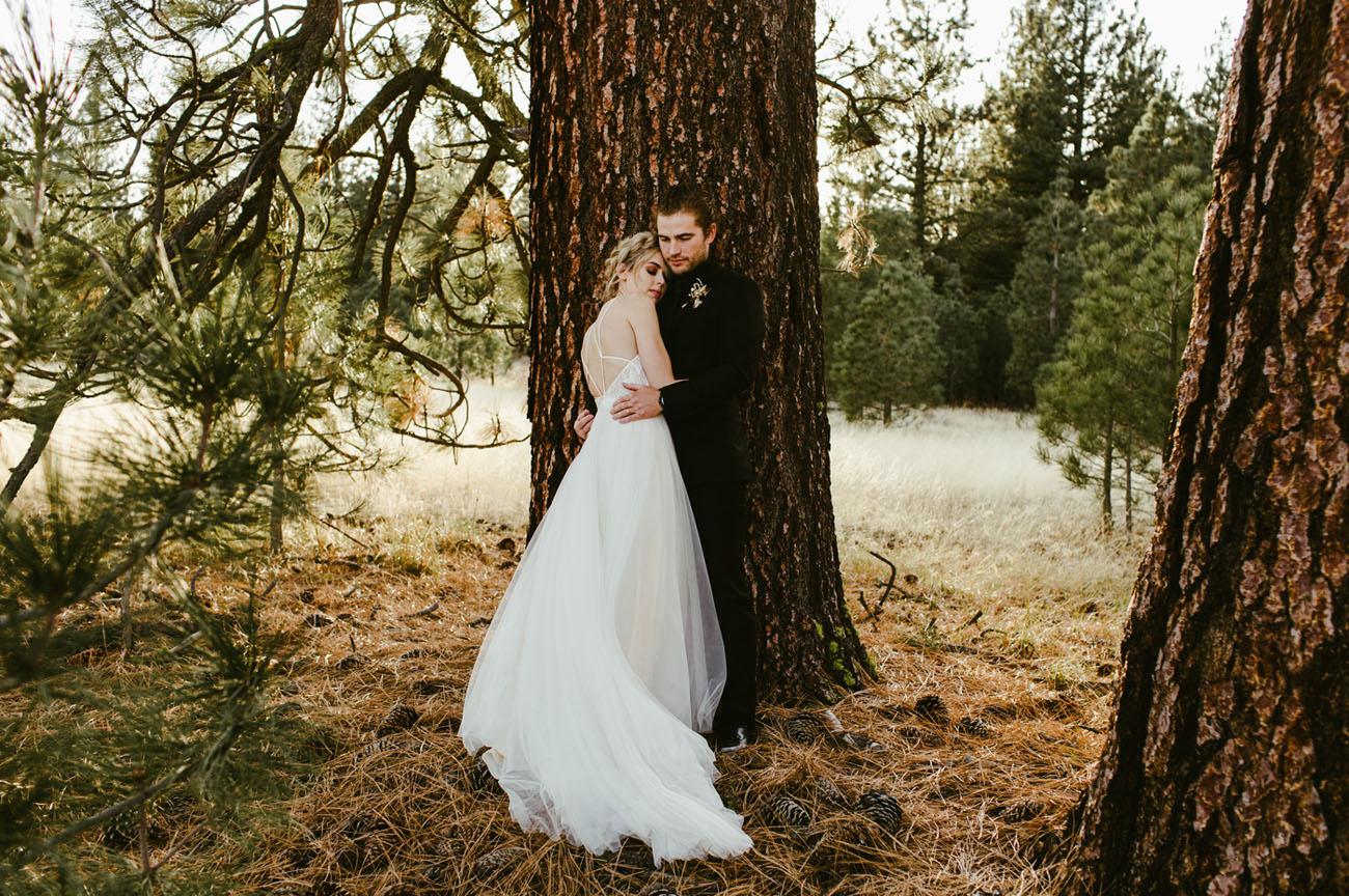 Modern Forest Wedding