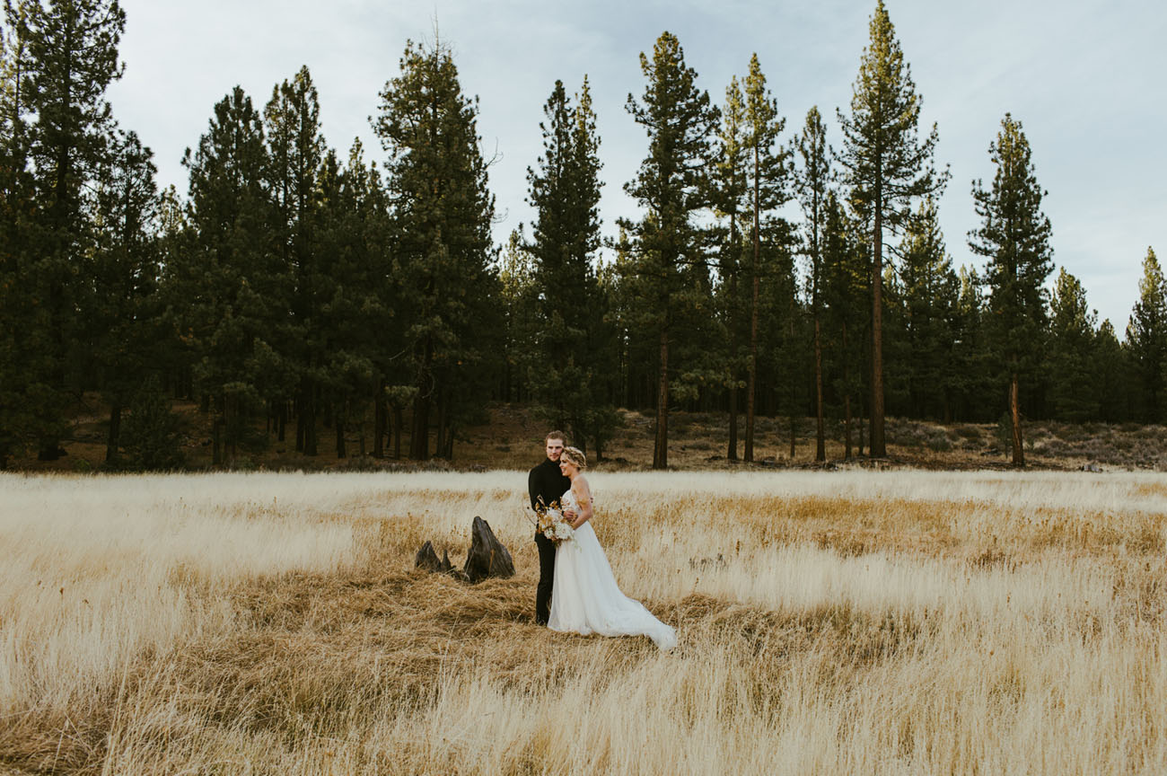Modern Forest Wedding