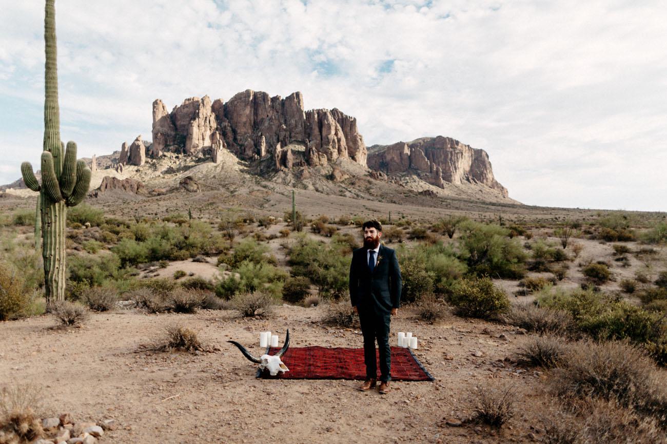 desert groom
