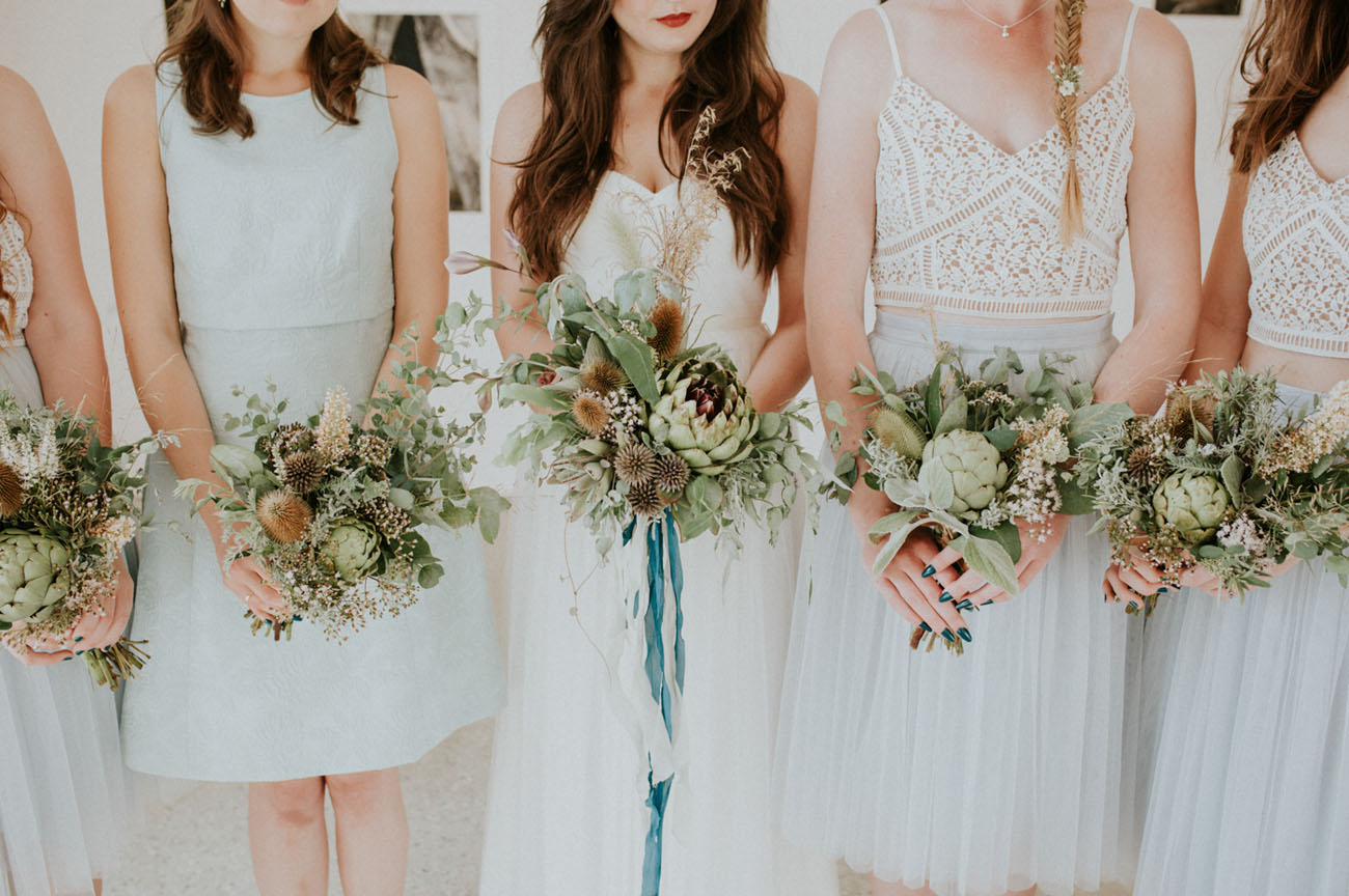 greenery bouquets