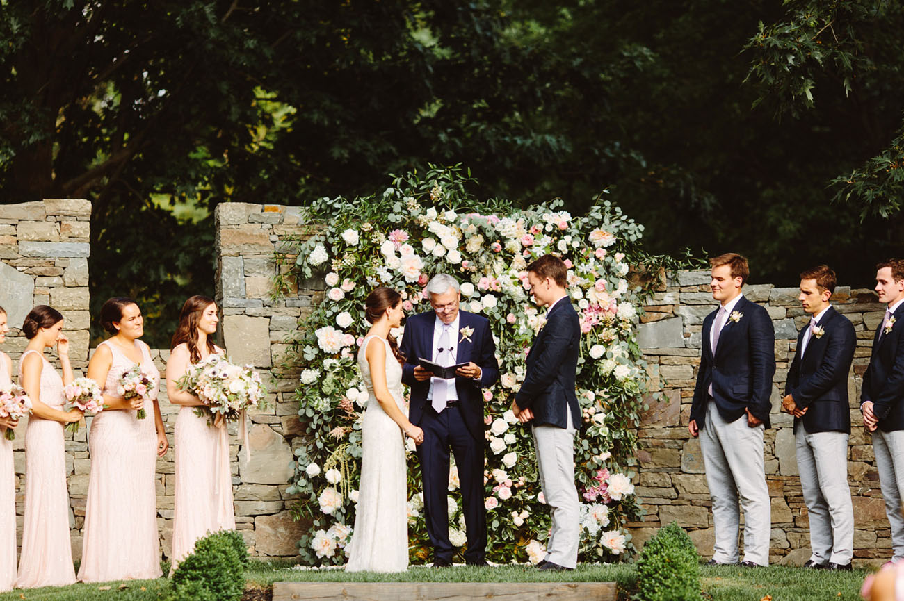 Modern Garden Wedding