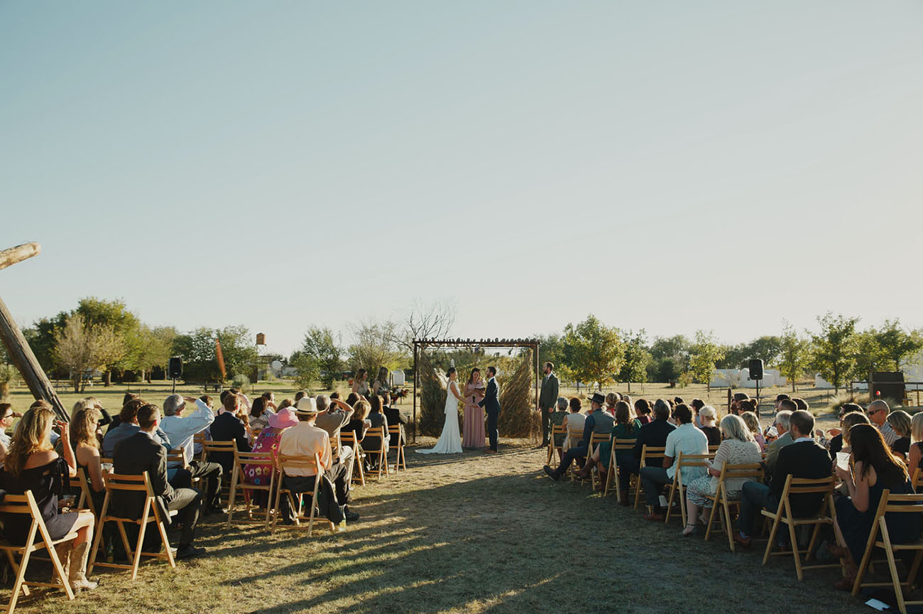 El Cosmico Marfa Wedding