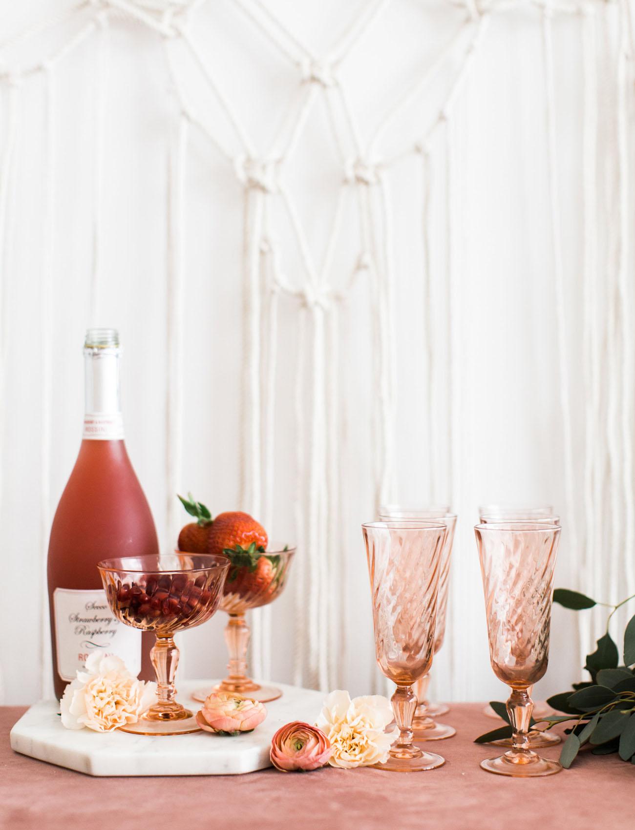 rose drinks