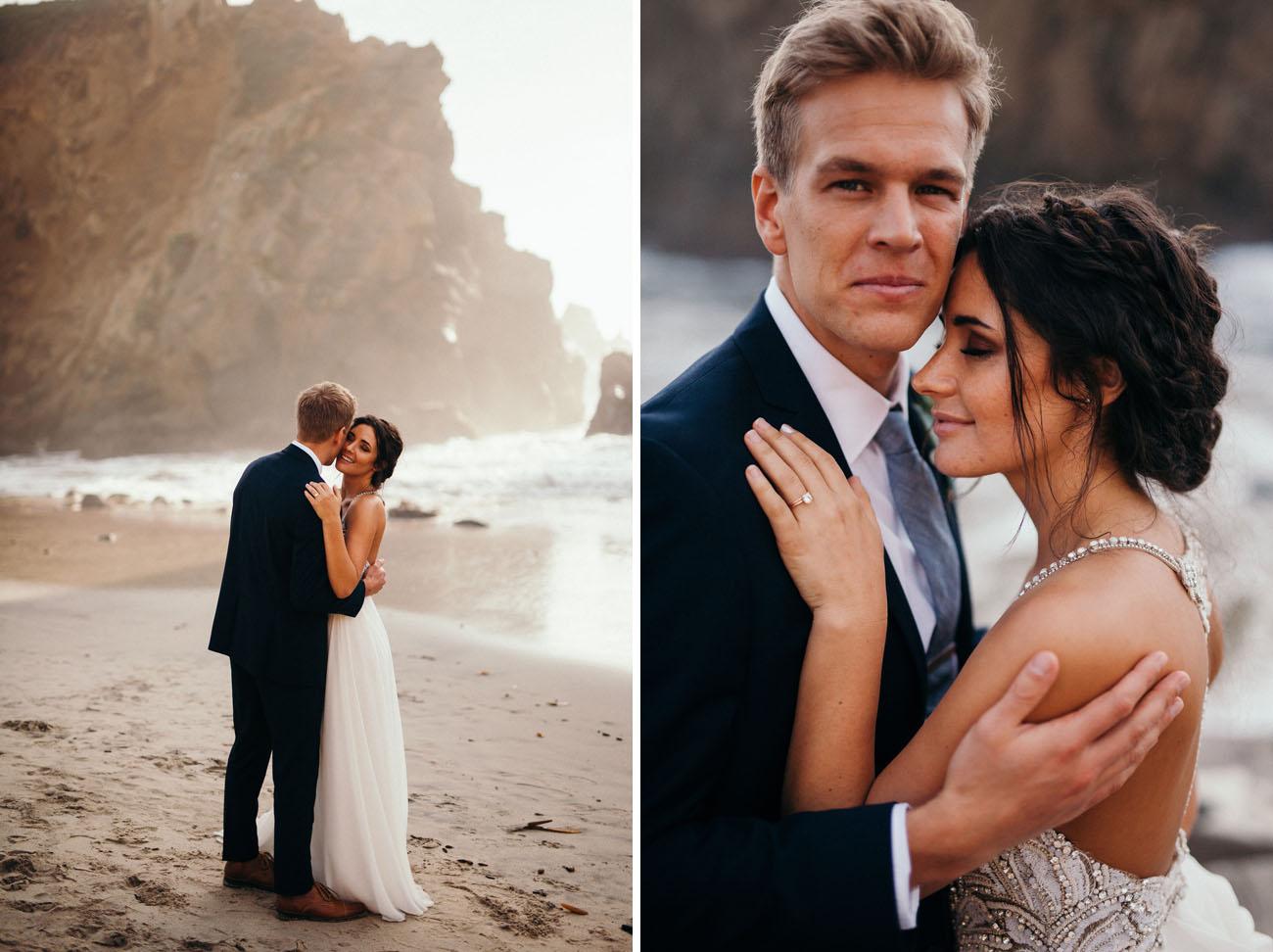 Intimate Big Sur Wedding
