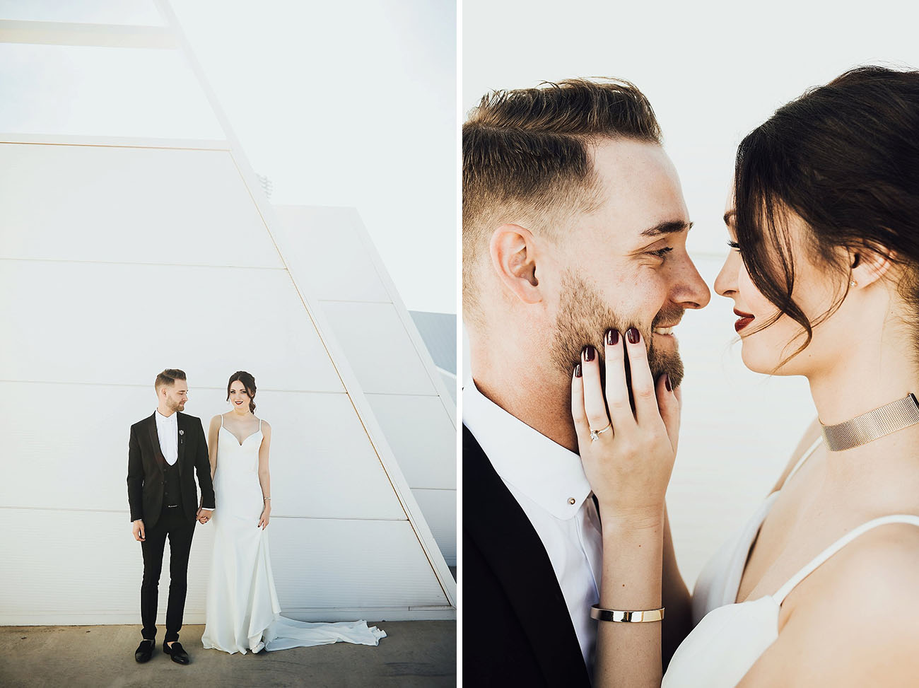 Stylish Minimalistic Wedding