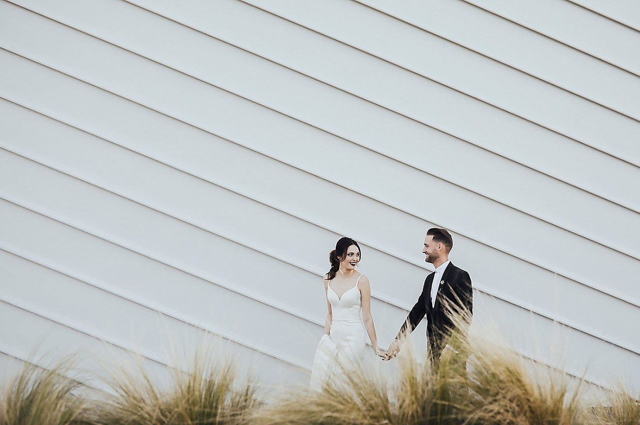Stylish Minimalistic Wedding