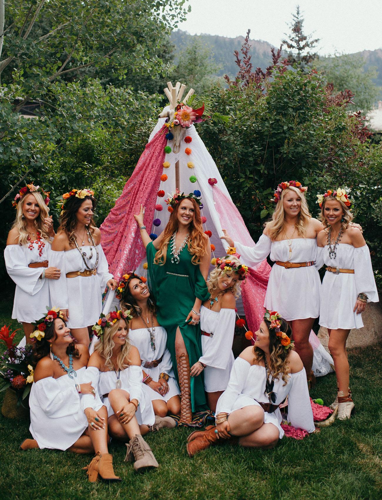 Boho Bridesmaid Shoot