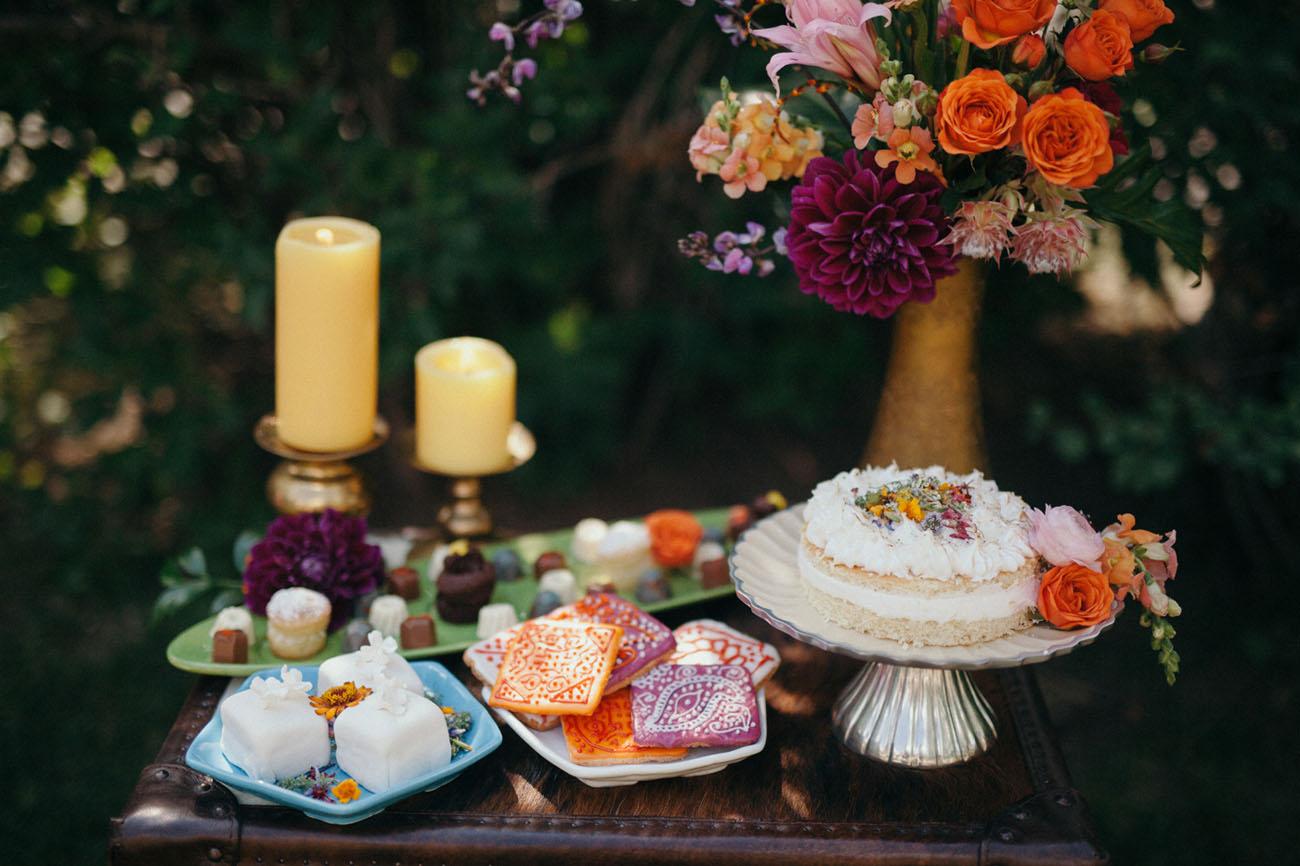 boho desserts