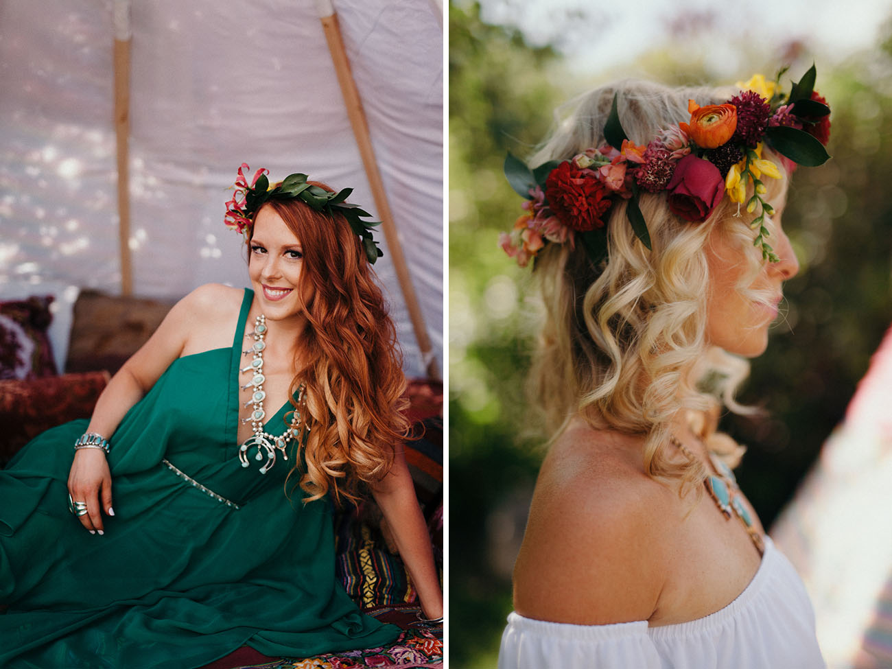 Boho Bridesmaid Shoot