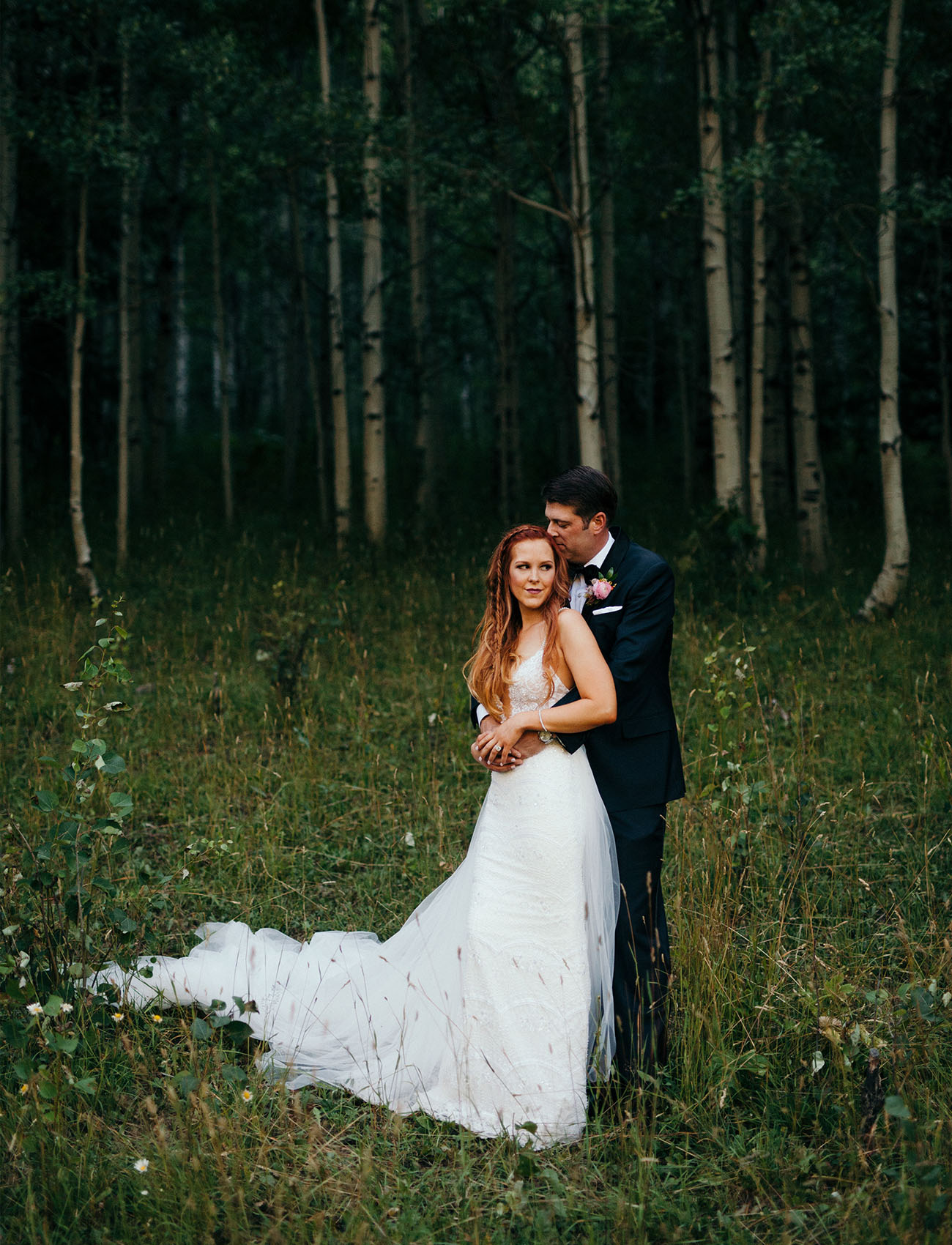 Boho Glam Aspen Wedding