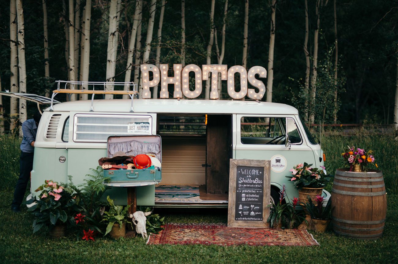 vw photo booth bus
