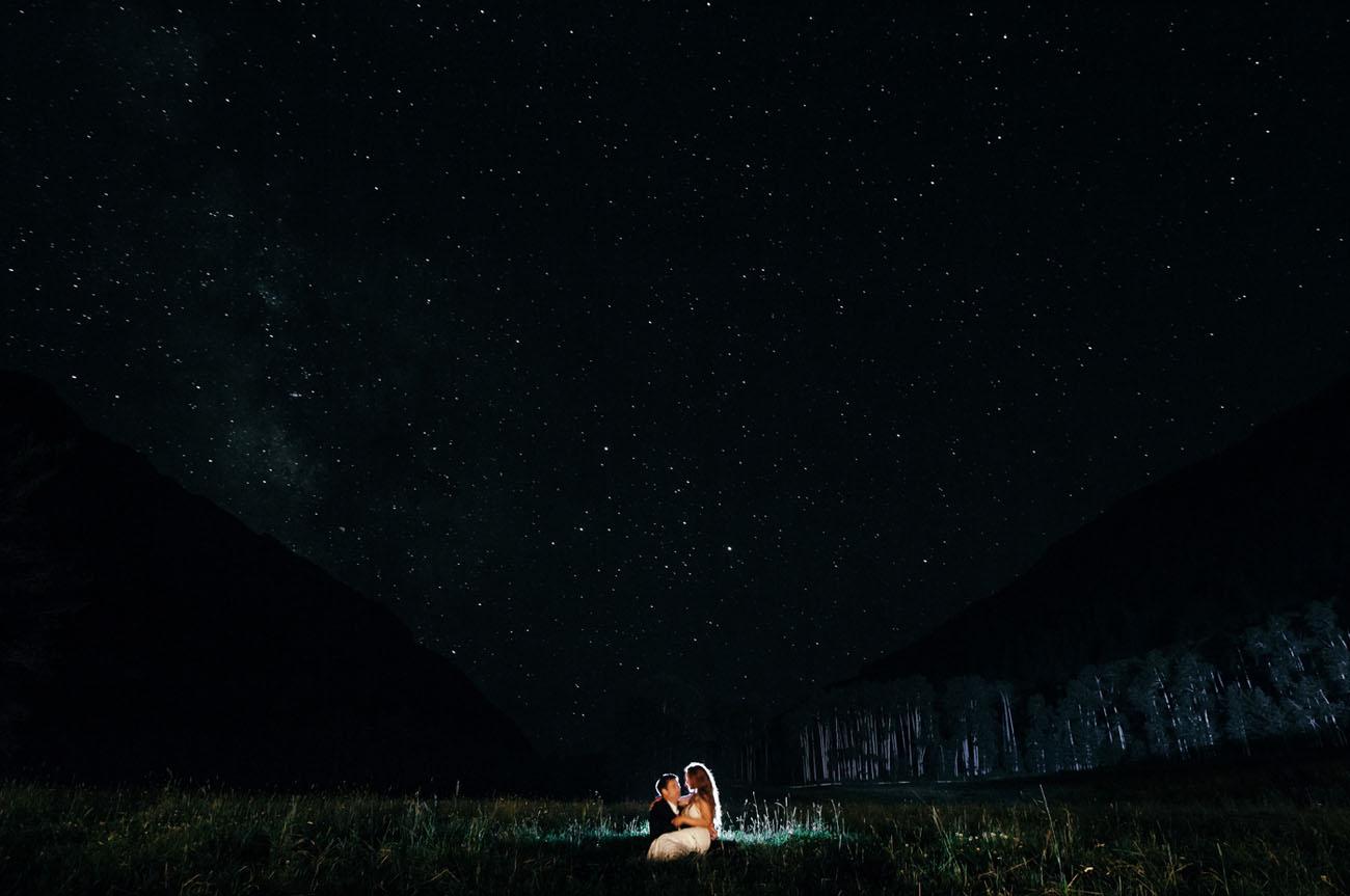 starry night portrait