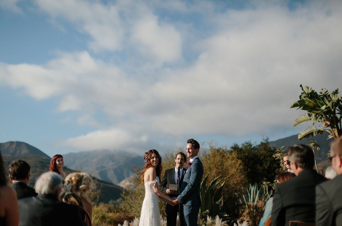Jewel Tone Ojai Wedding