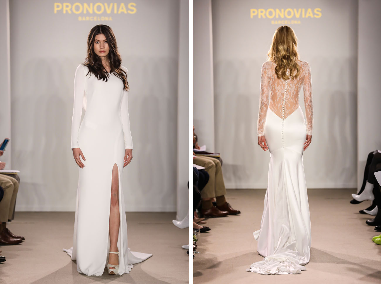 Pronovias Runway Show From Barcelona Bridal Week 2018: Pronovias Presents The Stunning 2018 Preview Collections