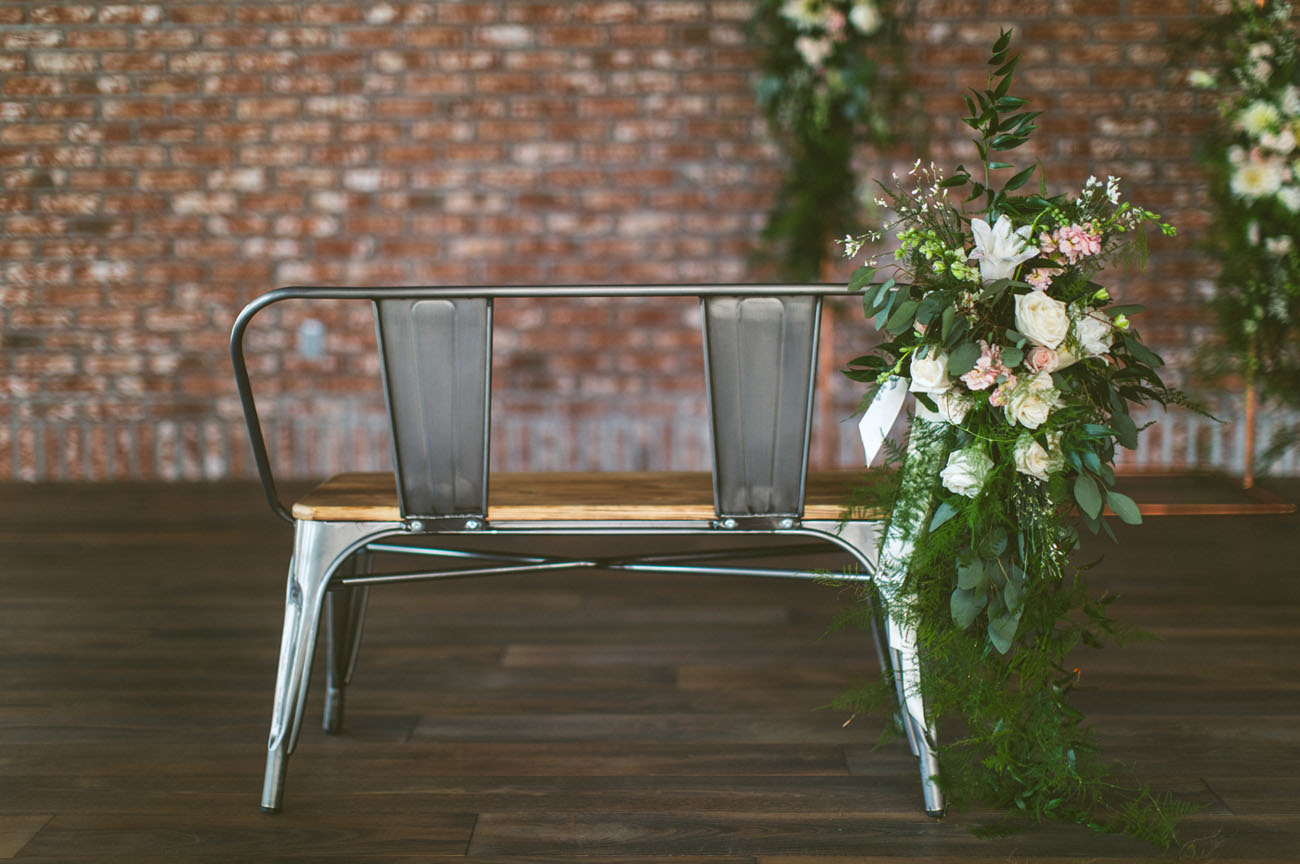 floral chair decor