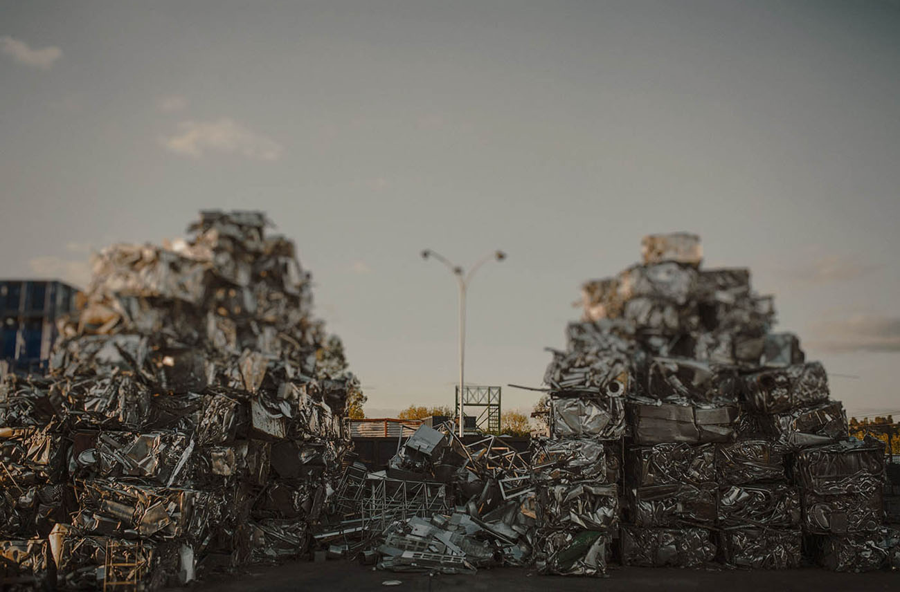 Scrapyard Inspired Elopement