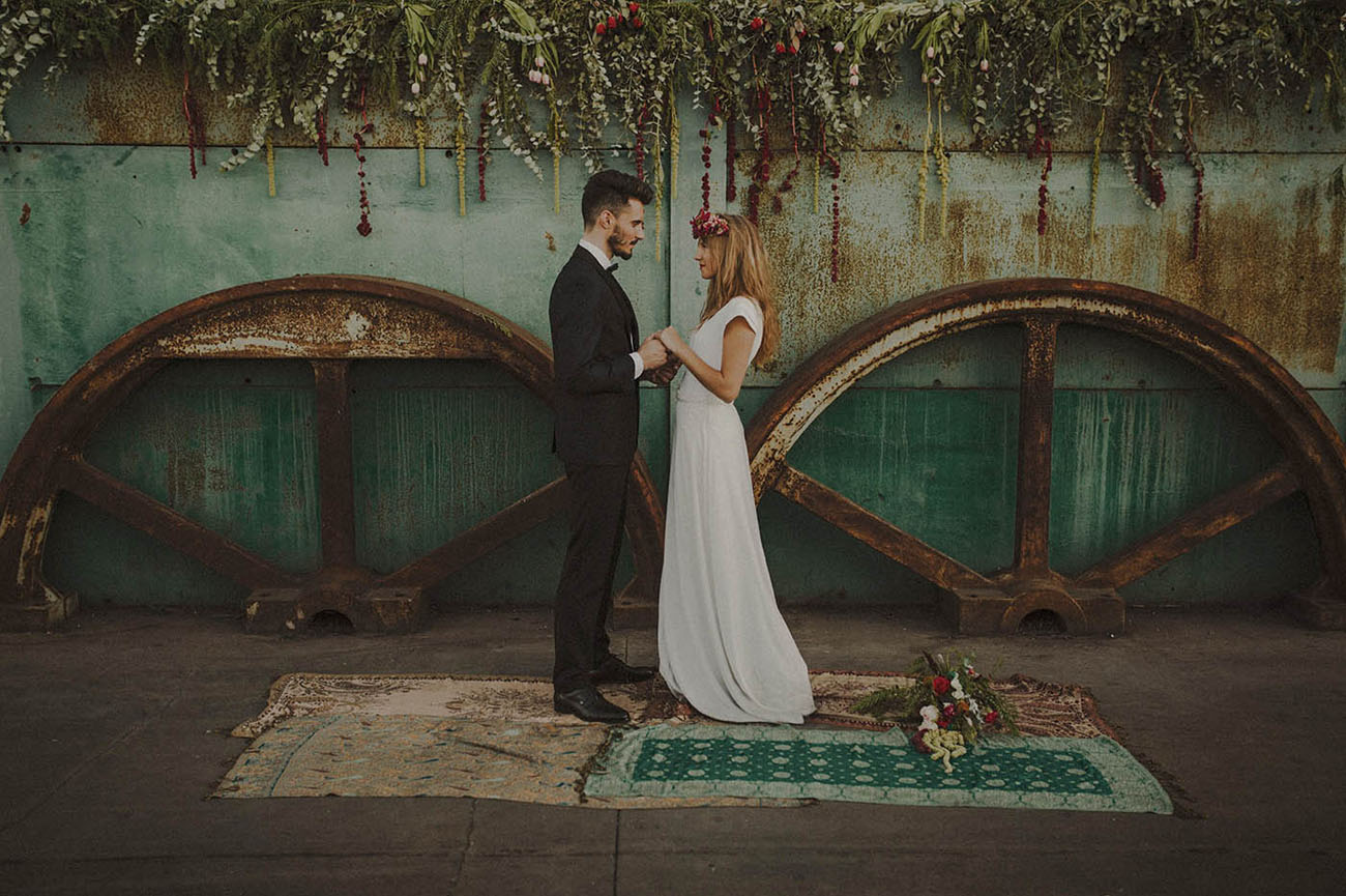 Scrapyard Inspired Elopement