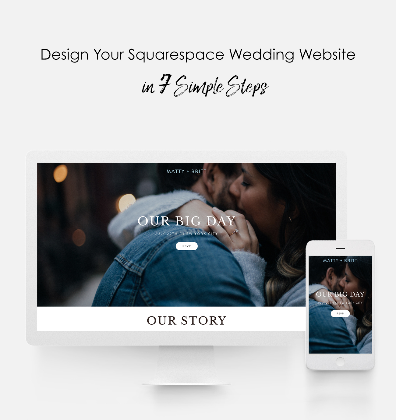 Design Your Squaree Wedding Website In 7 Simple Steps