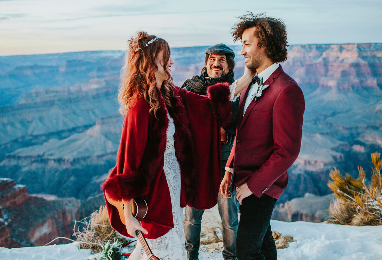 Sunrise Grand Canyon Elopement