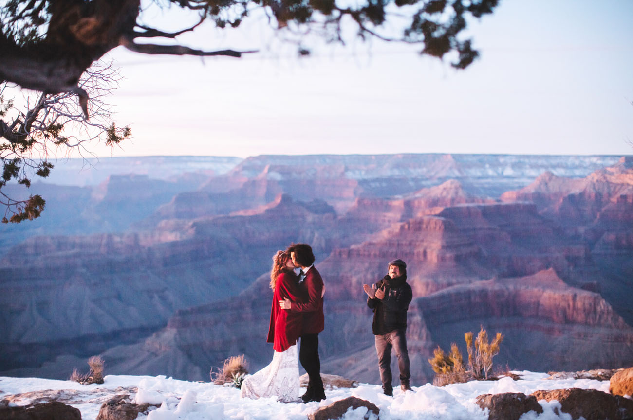 Sunrise Grand Canyon Elopement