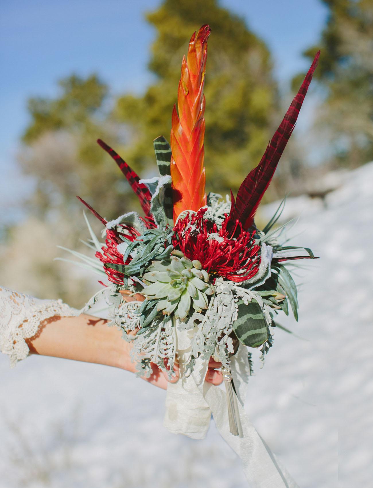unique desert bouquet
