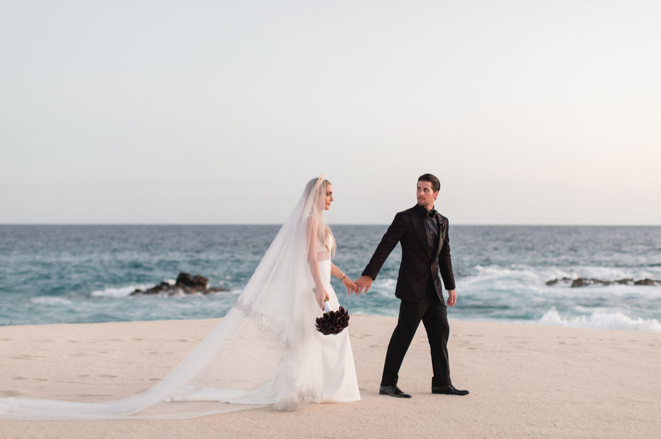 The Skinny Confidential S Dramatic Gothic Inspired Cabo Wedding