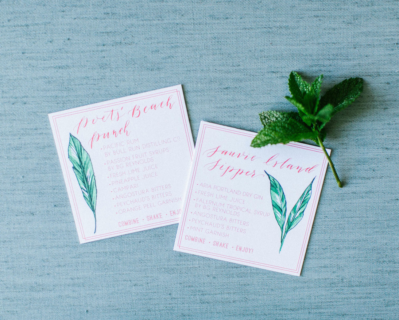 tropical paper goods