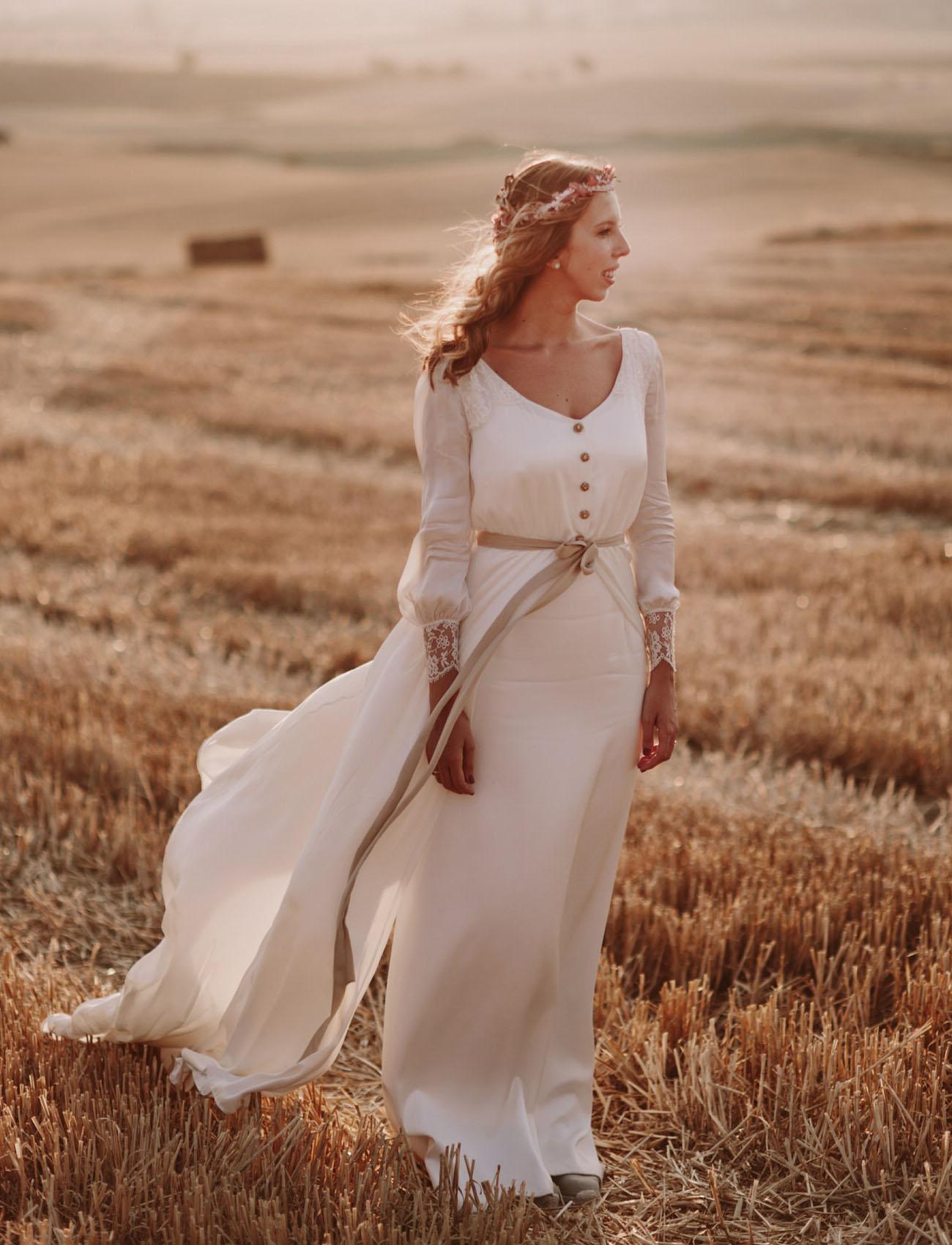Isabel Nuñez Wedding Dress