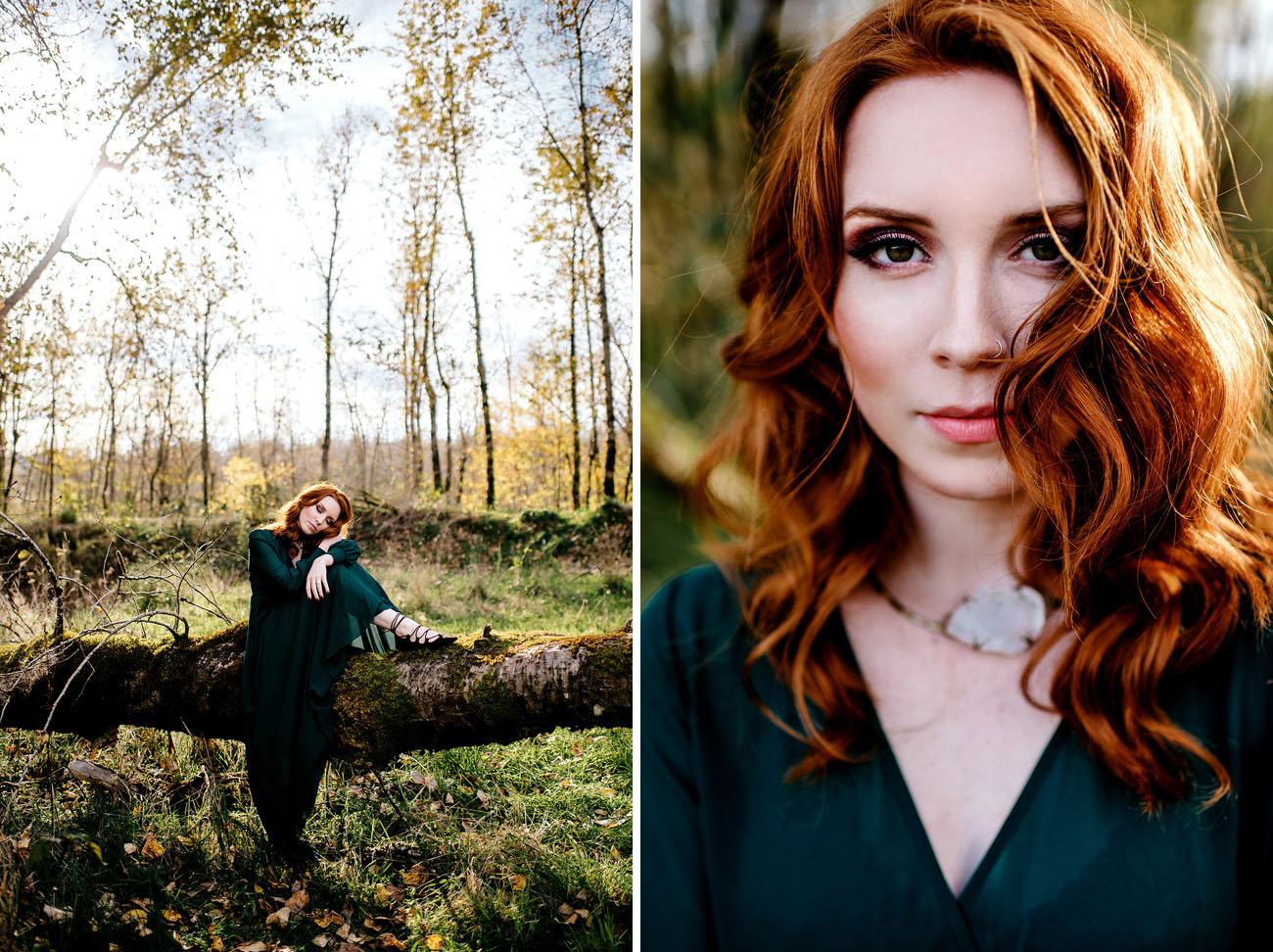 Vintage autumn inspired elopement