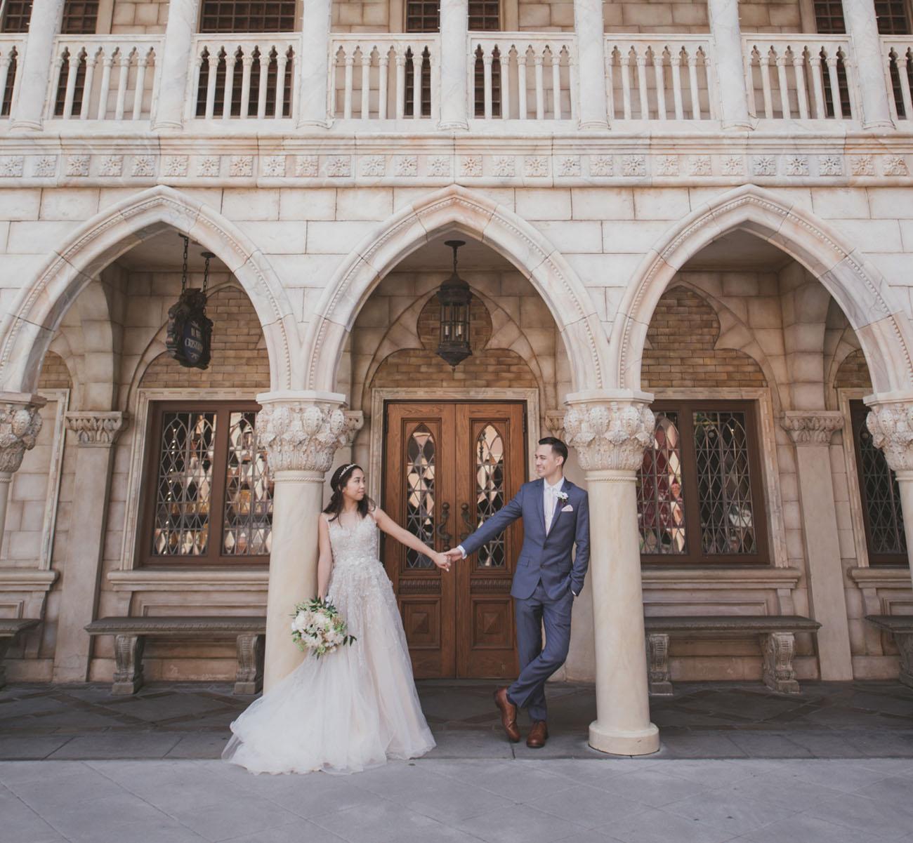 Magical + Blush-Hued Disney Fairy Tale Wedding