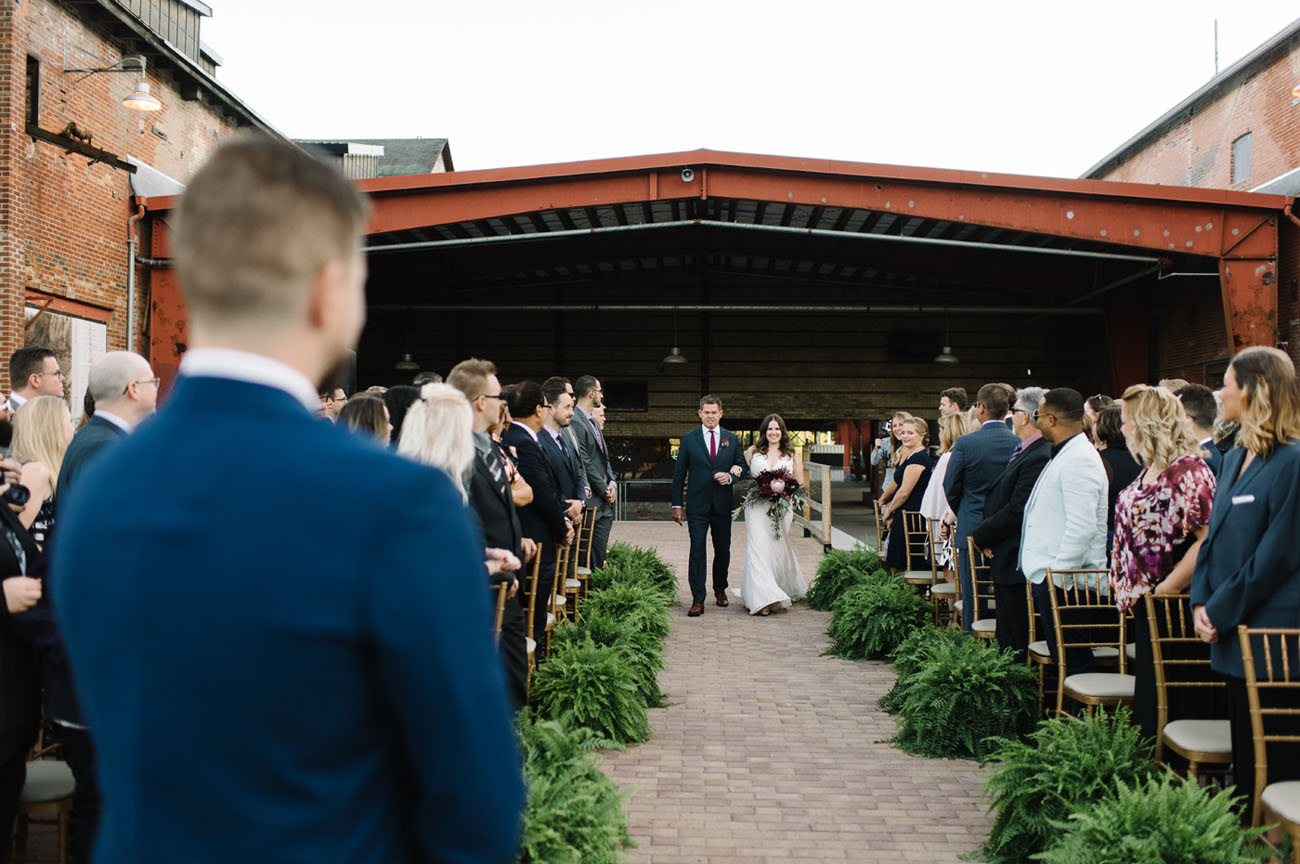 Old Factory Wedding