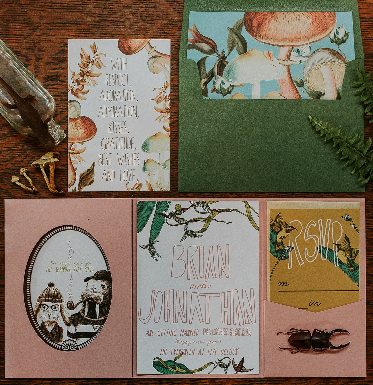 Wes Anderson paper goods