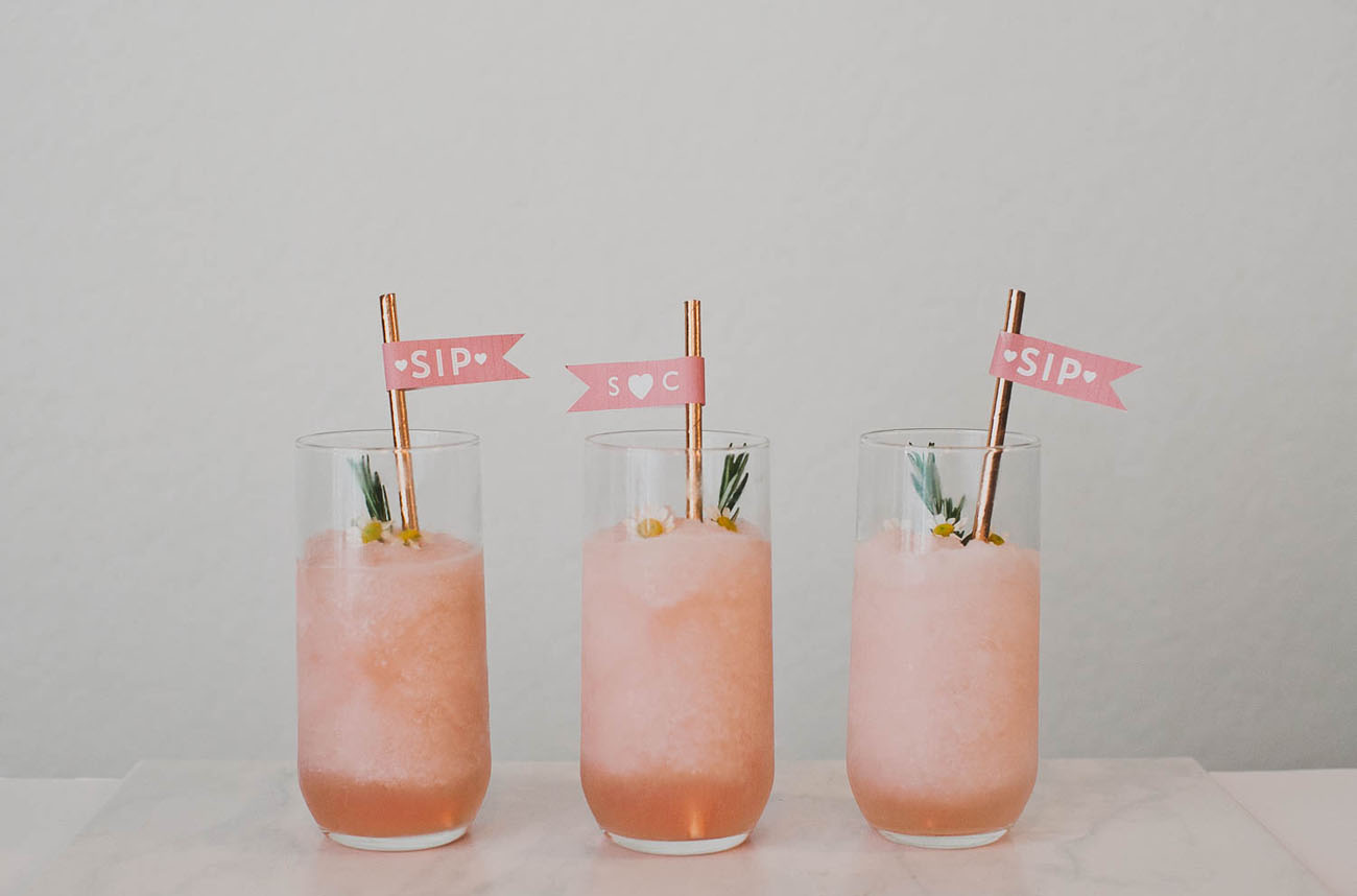 DIY Drink Tags with Frose